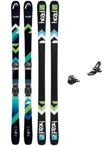 Head The Show 163 + AAAttack 11 90mm 2018 Freeski-Set