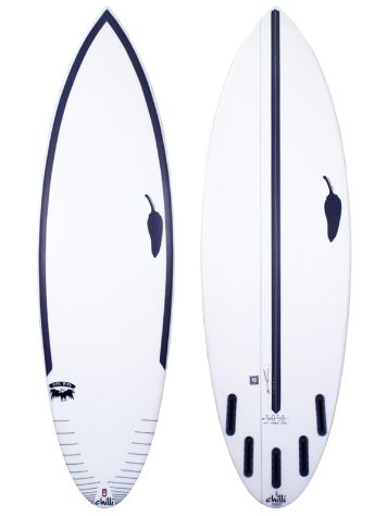 LSD Surfboards Chilli Rare Bird 6.0 50/50 Futures