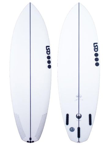LSD Surfboards Twinny 6.0 Xf Futures Surfboard
