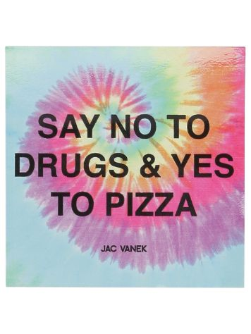 Jac Vanek Yes To Pizza Sticker