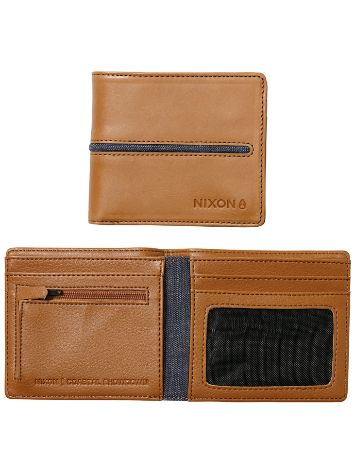 Nixon Coastal Showdown Bi-Fold Zip Geldbörse