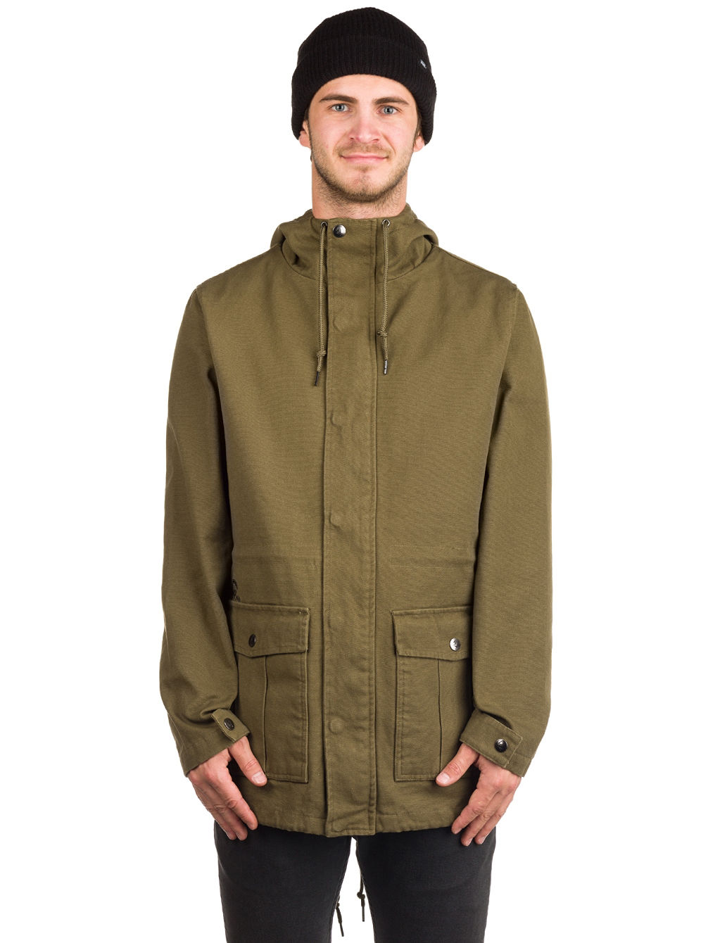 Buy Sketchy Tank Dan Blk Twil Parka Jacket online at blue-tomato.com