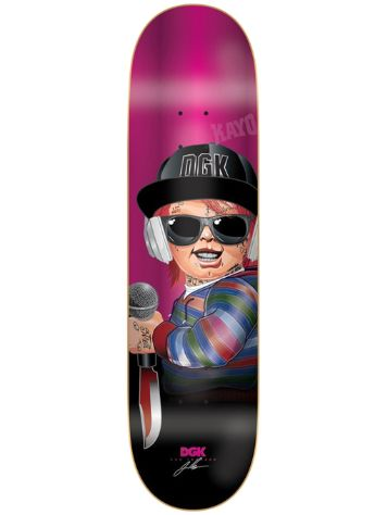 "DGK Boo G Killers 8.25"" Skateboard Deck"