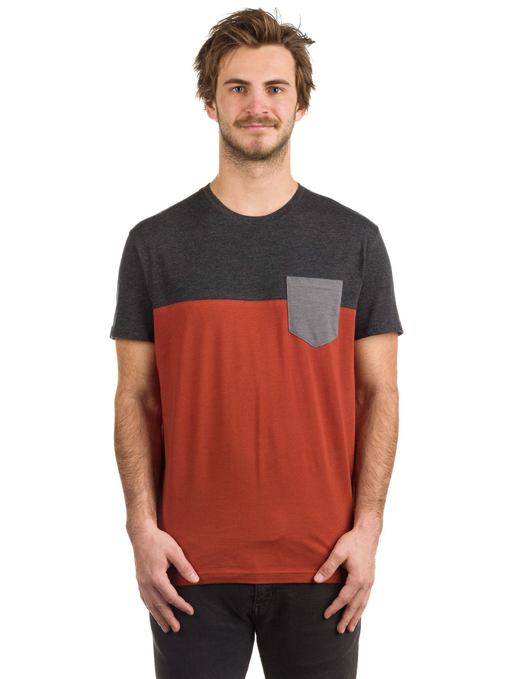 Block Pocket 2 T-Shirt