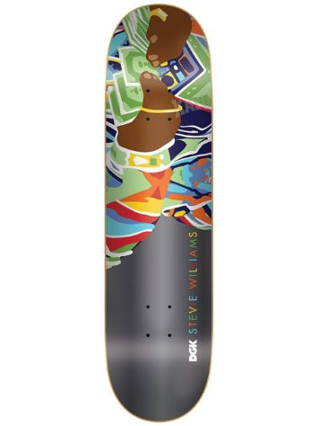 "DGK Williams Loot 8.0"" Skateboard Deck"