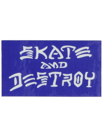 Thrasher Skate and Destroy Small Sticker