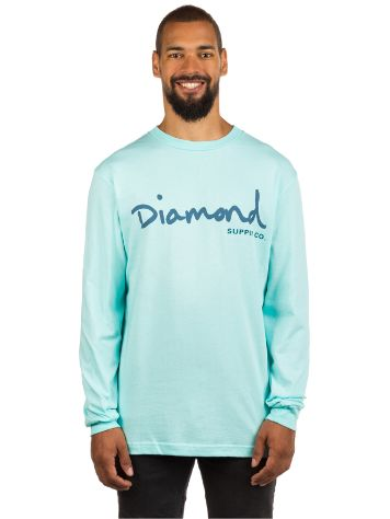 Diamond OG Script T-Shirt LS