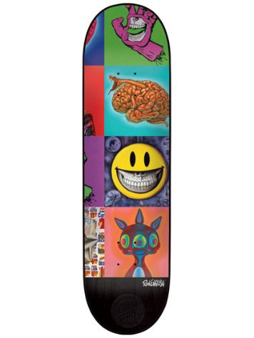 "Santa Cruz Ron English Popaganda 8"" Skateboard Deck"