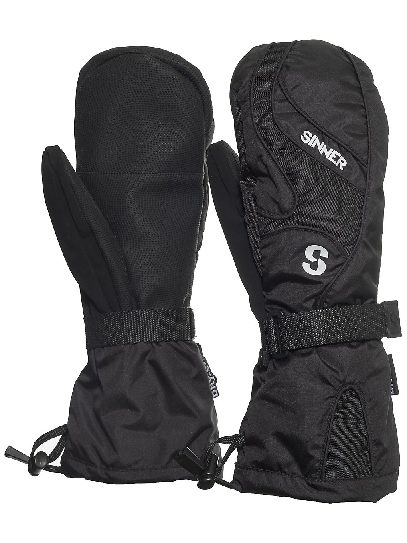 Sinner Everest Mittens black Gr. S