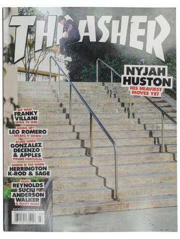 Thrasher Thrasher Issues March 2018